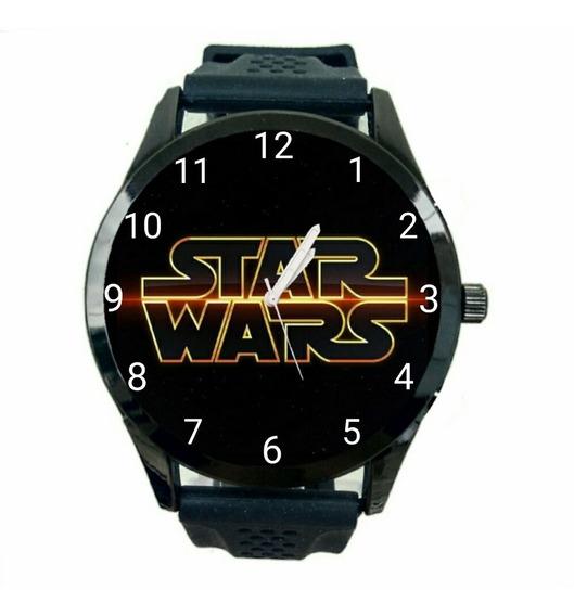 Relogio Personalizado Star Wars Unissex De Pulso Novo Fc T73