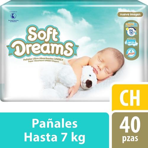 Pañal Soft Dreams Chico 40 Pzas