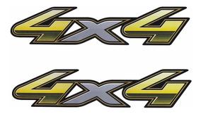 Par De Adesivos Emblema Picape Toyota Hilux Flex 2013 2015