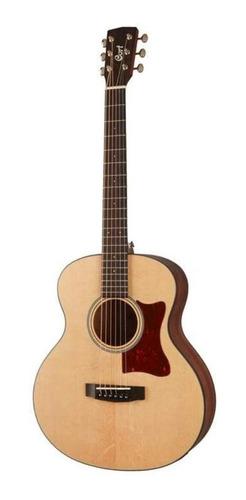 Imagen 1 de 4 de Guitarra Electroacustica Cort Con Cuerdas De Acero Little Cj