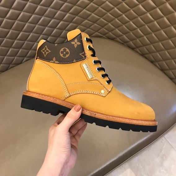 Sapato Louis Vuitton Oberkampf Ankle Boot 32