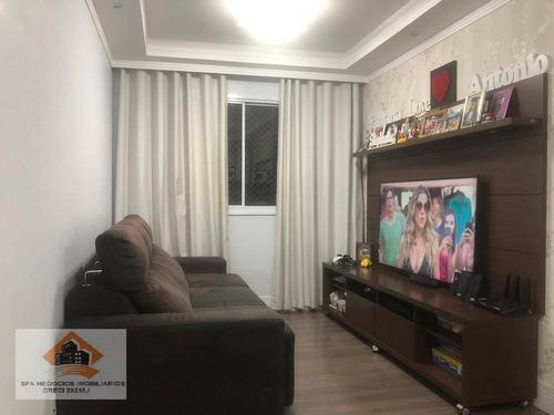 Apartamento Com 3 Dormitórios À Venda, 61 M² Por R$ 350.000,00 - Jardim Vila Formosa - São Paulo/sp - Ap0226