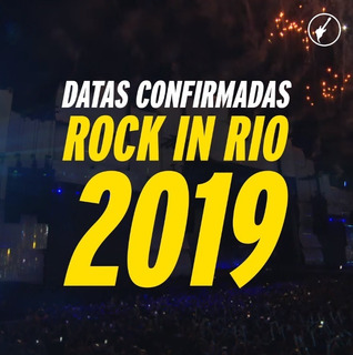 Ingresso Rock In Rio 2019 - Imagine Dragons 06/10- Inteira