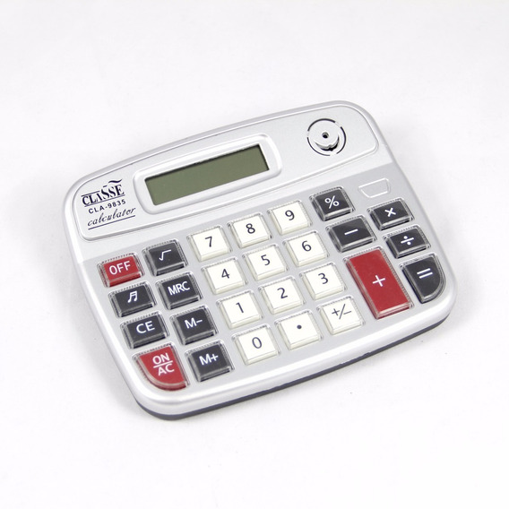 Calculadora Digital Com 8 Dígitos Grande