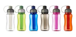 100 Uds Squeeze De Plástico Resistente 400 Ml Personalizados