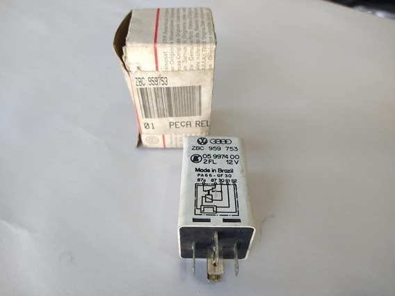 Rele Vidro Eletrico Vw Santana Quantum Vw Zbc959753