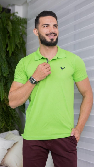 Camisa Gola Polo Masculina Roupas Para Homens