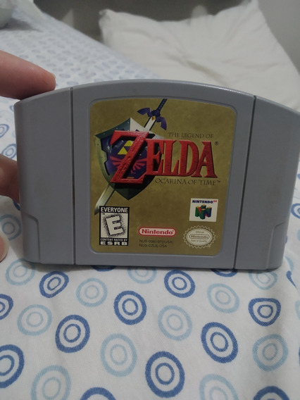 Zelda Ocarina Of Time N64 Original! Otimo Estado!