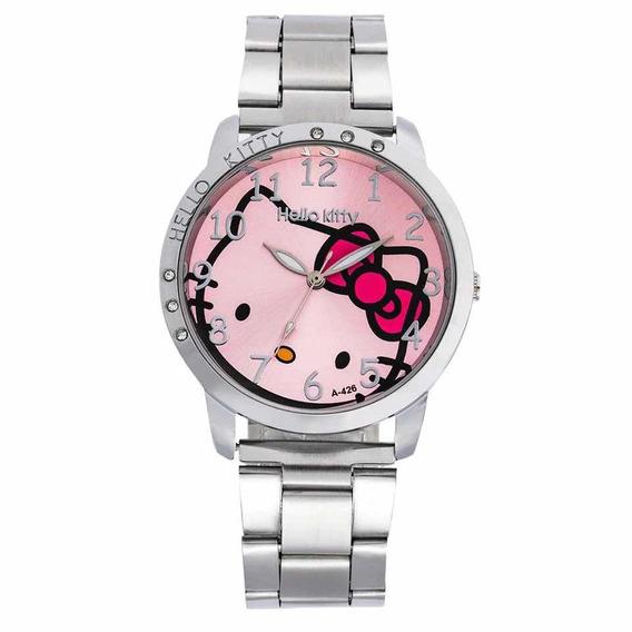 Reloj Hello Kitty Acero Inoxidable * * Gran Remate! * *