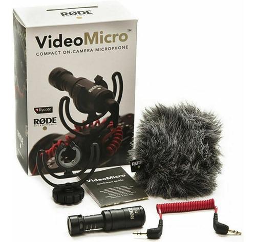 Rode Videomicro Microfono Para Camara Gopro 8 7 5