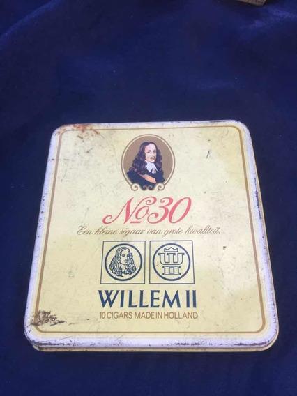 Lata De Cigarrillos Vacia. Willem 2 Vacia
