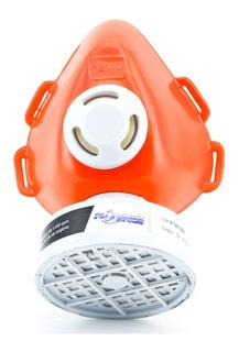 Mascara Respirador 1/4 C/ Filtro Cabelereira Produto Quimico