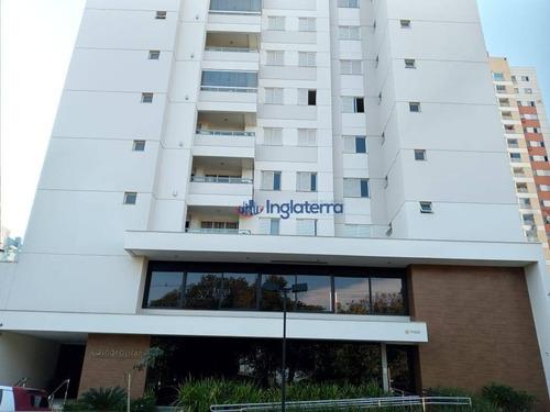 Apartamento À Venda, 76 M² Por R$ 491.000,00 - Gleba Palhano - Londrina/pr - Ap0254