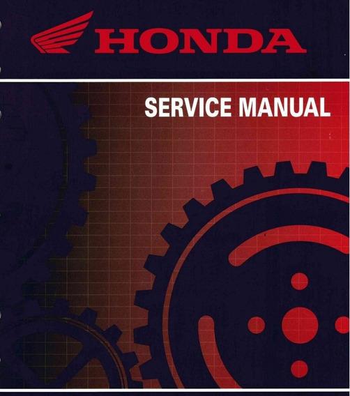 Manual De Serviço Honda Cb 300r - 2010