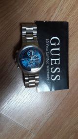 Relogio Guess Cronografo Fundo Azul