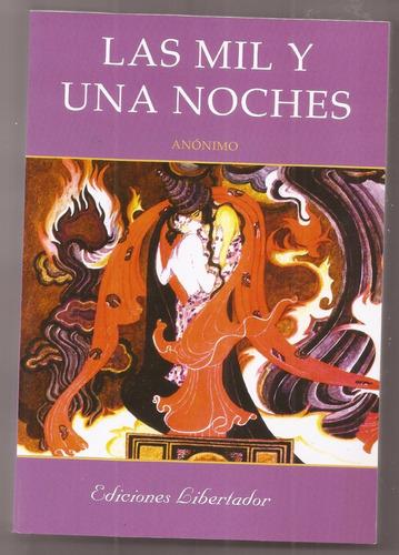 Las Mil Y Una Noches Anonimo, Libro Nuevo