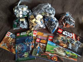 Lego Lote Star Wars 75141 75037 75090 75002 9491 75080