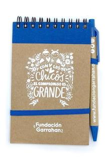 Eco Anotador + Lapicera - Fundación Garrahan