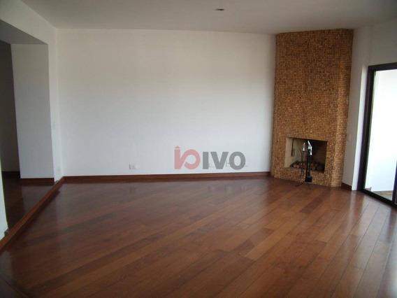Cobertura 4 Dormitórios - 160 M² Por R$ 2.400.000 - Moema - São Paulo/sp - Co0130