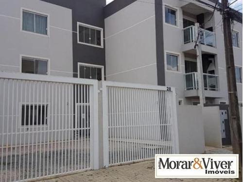 Imagem 1 de 15 de Apartamento Para Venda Em São José Dos Pinhais, Itália, 2 Dormitórios, 1 Banheiro, 1 Vaga - Sjp8550_1-1039897