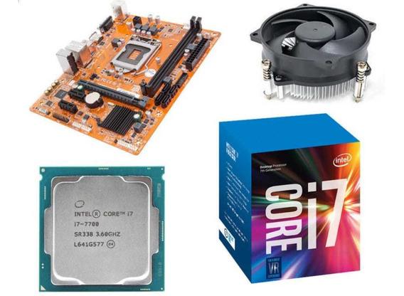 Kit I7 7700 + Placa Mãe Ipmh110g + Cooler Acer Aspire