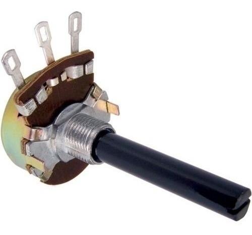 Potenciômetro 2m2 S/chave 23mm Radio, Amplificador Antigo