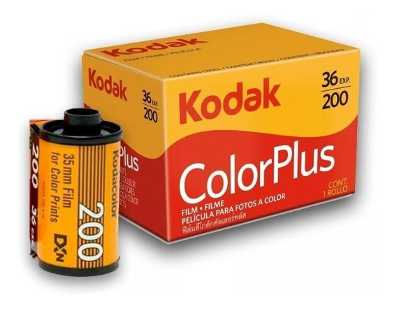 Filme Kodak 35 Mm Color Plus 200 36 Poses Prontra Entrega!