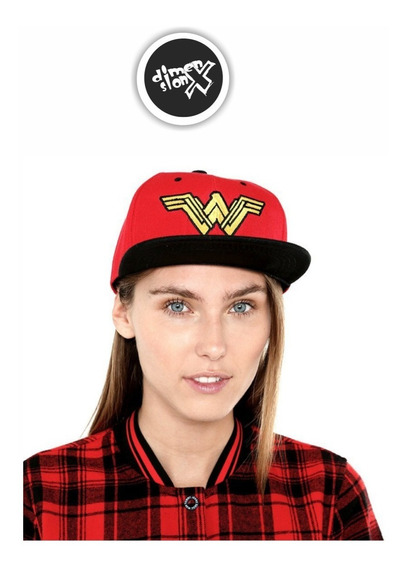Gorra Wonder Woman Amazona Dc Comics Con Licencia Oficial