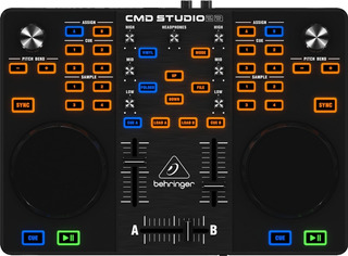 Controlador Behringer Cmd Estudio 2a Usb Virtual Dj Mixer