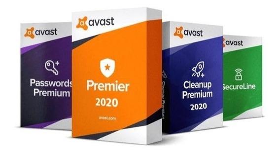 Avast 2020 + Cleanup 2020 - Proteja Até 10 Pcs