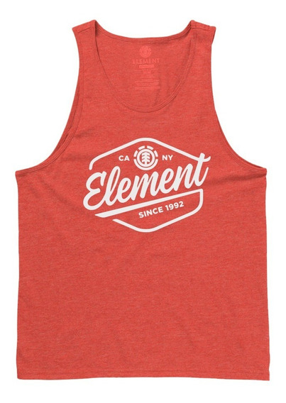 Musculosa Element Swash Singlet Red Hombre - 21197504