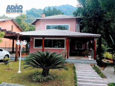 Casa Com 3 Dormitórios À Venda, 235 M² Parque Santo Antonio - Guapimirim/rj - Ca1066