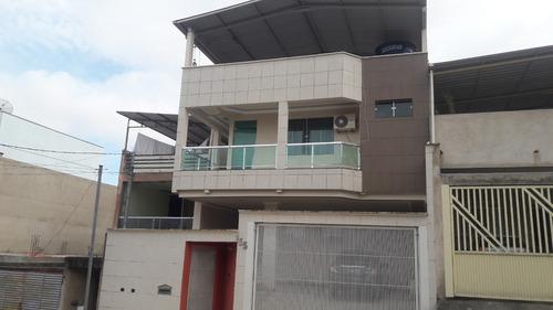 Imagem 1 de 14 de Casa 02 Andares Com 04 Quartos Com Suite E Closet