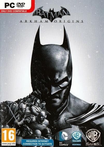Batman: Arkham Origins - Pc (ativação Via Steam)