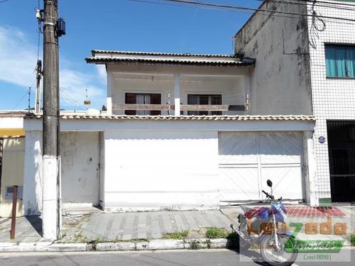 Imagem 1 de 10 de Sobrado Para Venda Em Peruíbe, Centro, 3 Dormitórios, 2 Suítes, 1 Banheiro, 2 Vagas - 2358_2-175785