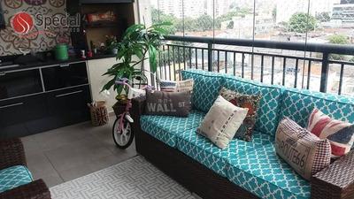 Apartamento Com 3 Dormitórios À Venda, 96 M² - Vila Prudente - São Paulo/sp - Ap12035