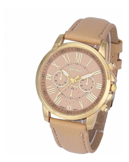 Relógio De Pulso Feminino Estilo Luxo Com Caixa De Presente