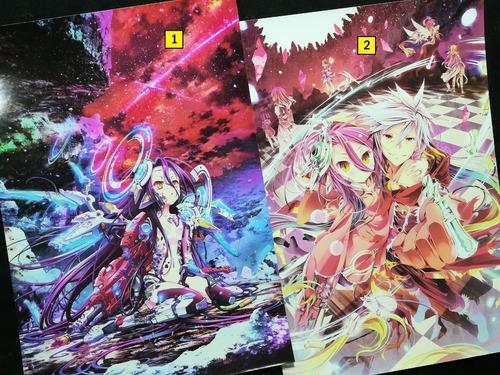 Posters A3 29x42cm Anime No Game No Life #1 / Niponmania
