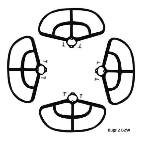 Protetor Helice Para Mjx Bugs 2 B2c B2w Ou Hubsan X4 501s