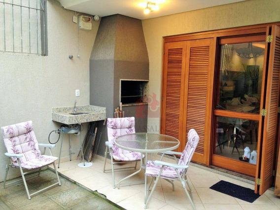 Casa De 3 Dormitórios Com Garagem À Venda No Bairro Guarujá - Porto Alegre/rs - Ca0364