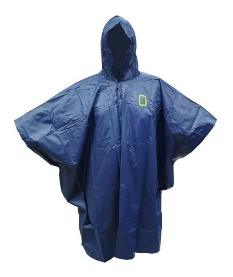 Poncho De Lluvia Impermeable Pvc National Geographic