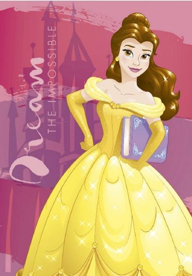 Carpeta De Alfombra Infantil Princesa Bella 1.00 X 1.40
