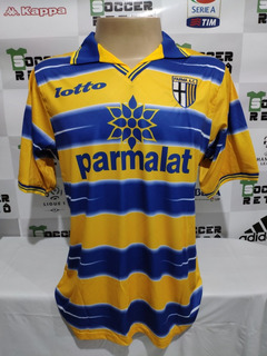Camisa Parma Final Copa Da Uefa 1999 Crespo 9 À P/ Entrega