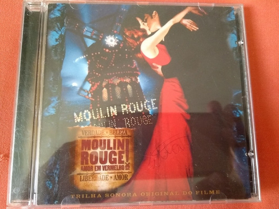 Cd Trilha Sonora Moulin Rouge Perfeito Estado, Original!!!