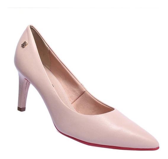 Sapato Scarpin Feminino Couro Bottero