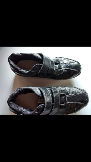 Zapatillas Tres Usos , Anchas,con Velcro