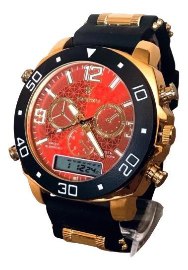 Relógio De Pulso Analogico Digital Esportivo Militar Barato