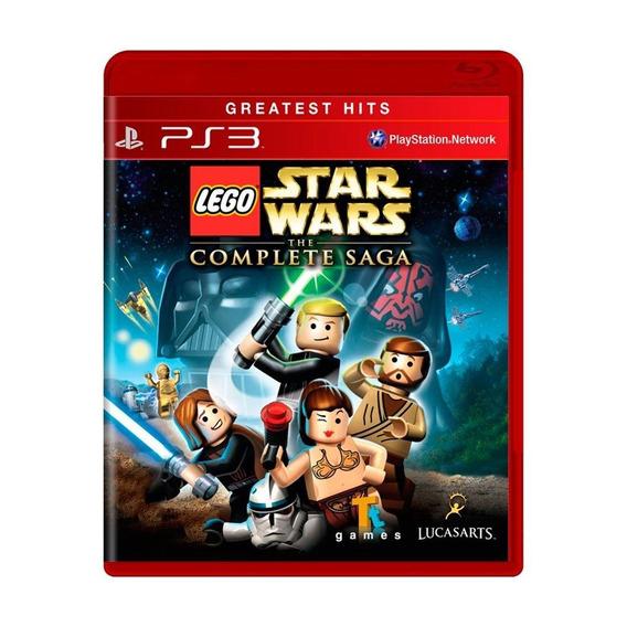 Lego Star Wars The Complete Saga Ps3 Mídia Física