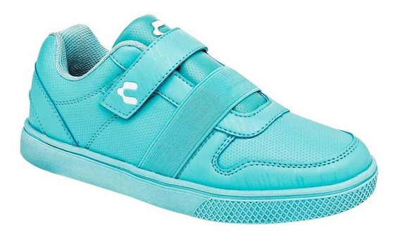 Tenis Charly Mujer 1049279 Color Verde Talla 22-26 -shoes