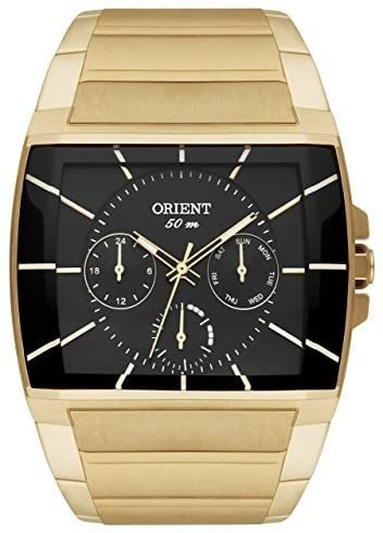 Relógio Orient Masculino Dourado Ggssm001 P1kx